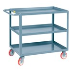 Welded Shelf Cart w/ Three Shelves