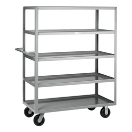 Multi-Shelf Truck w/ Five Shelves - Shown w/ lip shelves