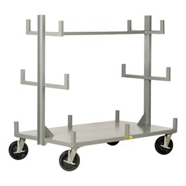 Portable Bar & Pipe Cart