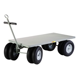 Eight-Wheeler Utility Wagon w/ Flush Deck
