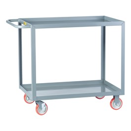Welded Shelf Cart w/ 2 Shelves