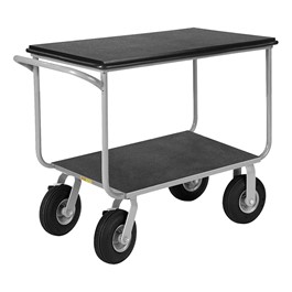 "Instrument Cart - 9"" Pneumatic Casters"