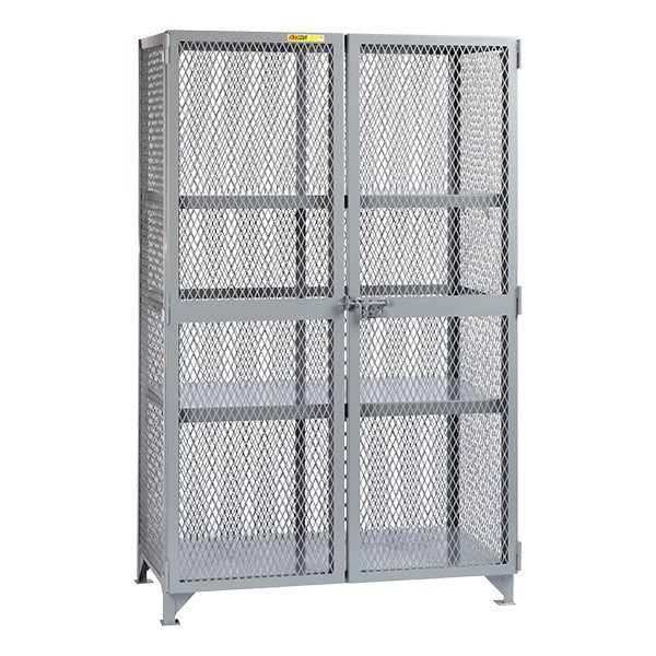 All-Welded Storage Locker w/ Two Center Shelves