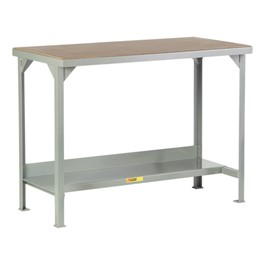 Welded Steel Workbench w/ Hardboard Top