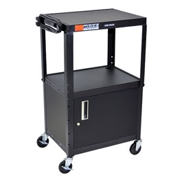 Duraweld Adjustable-Height Cart w/ Cabinet