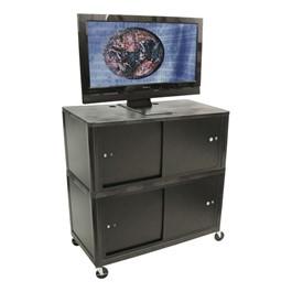 Endura Flat Panel Cart w/ Cabinets
