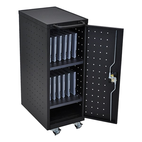 12-Outlet Narrow-Body Charging Cart