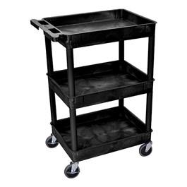 """Multi-Purpose Tub Cart w/ Three Tub Shelves (24\"""" W)"""