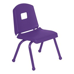 "Split-Bucket Preschool Chair (12"" Seat Height) - Purple"