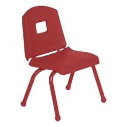 "Split-Bucket Preschool Chair (12"" Seat Height) - Red"
