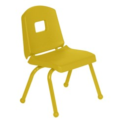 "Split-Bucket Preschool Chair (12"" Seat Height) - Yellow"