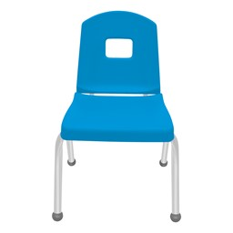 Split-Bucket Preschool Chair - Bright Blue