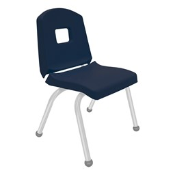 Split-Bucket Preschool Chair - Navy