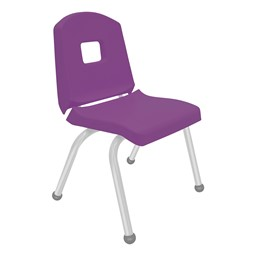 Split-Bucket Preschool Chair - Purple