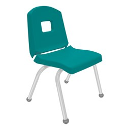 Split-Bucket Preschool Chair - Teal