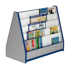 Creative Colors Toddler Book Stand w/ Double-Sided Book Slots