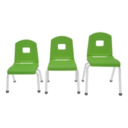 Split-Bucket Preschool Chair - Sour Apple