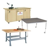 Makerspace Tables & Workbenches