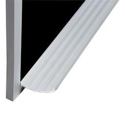 Deluxe Porcelain Steel Magnetic Chalkboard w/ Aluminum Frame