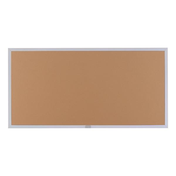 Plas-Cork Colored Bulletin Board - Shown w/ aluminum frame