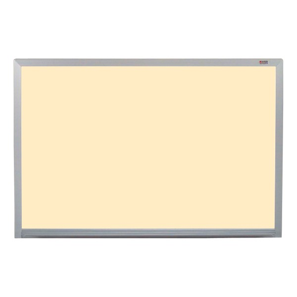 Pro-Lite Magnetic Markerboard w/ Aluminum Frame - Shown in almond