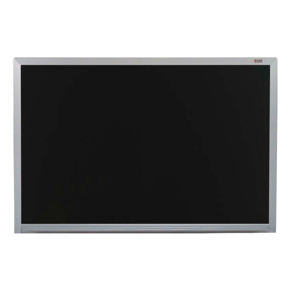 Pro-Rite Magnetic Markerboard w/ Aluminum Frame - Shown in black