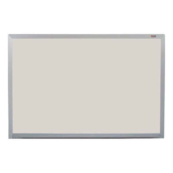 Pro-Lite Magnetic Markerboard w/ Aluminum Frame - Shown in silver
