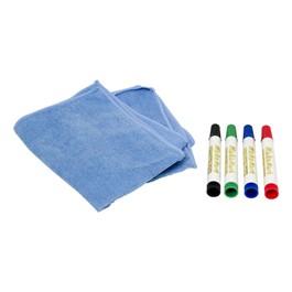 Makamark Markers & Eraser Towel