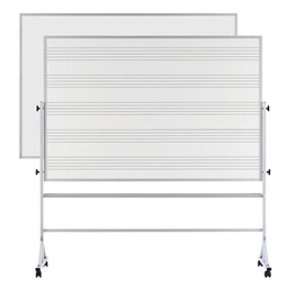 Music Staff Reversible Markerboard