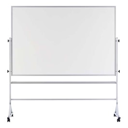 Double-Sided Portable Dry Erase Board w/ Aluminum Frame