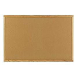 Natural Cork Board w/ Wood Frame