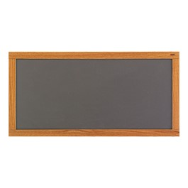 Plas-Cork Colored Bulletin Board w/ Wood Frame