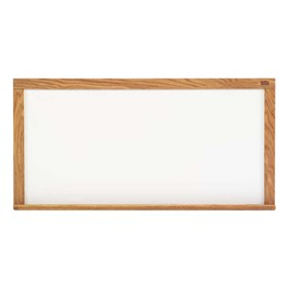 5\' High Pro-Lite Magnetic Markerboard w/ Wood Frame
