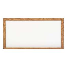 5\' High Pro-Lite Magnetic Markerboard w/ Wood Frame