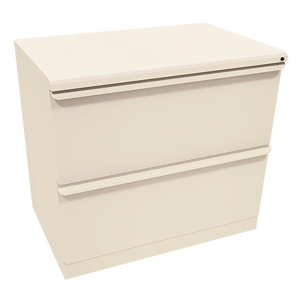 """Zapf Lateral File w/ Two Drawers (30"""" W) - Putty"""
