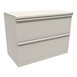 "Zapf Lateral File w/ Two Drawers (36"" W) - Featherstone"