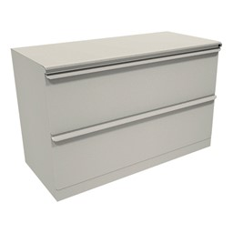 """Zapf Lateral File w/ Two Drawers (42"""" W) - Featherstone"""