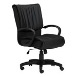 Mercado Leather Series Executive Chair w/ Loop Arms