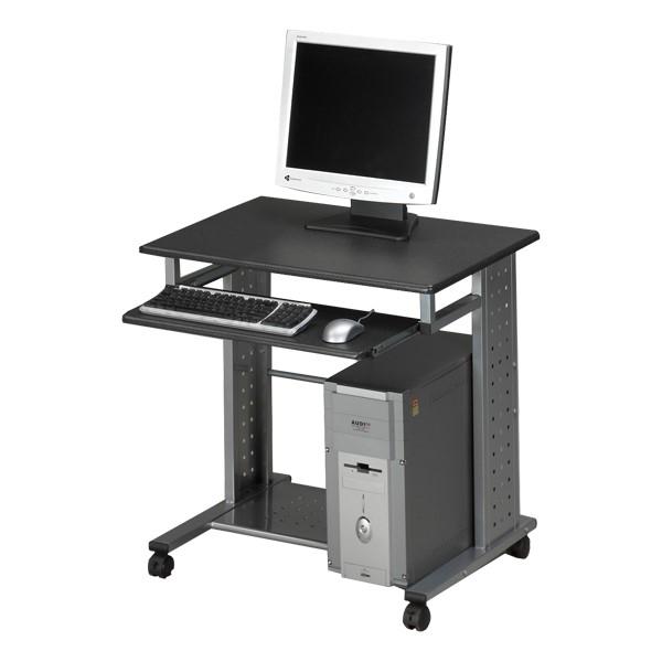 Empire Series Computer Desk – Shown in anthracite gray
