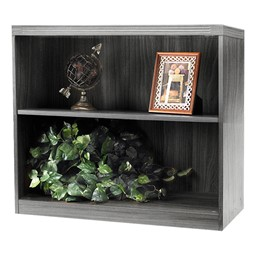 Aberdeen Series Bookcase - Gray woodgrain