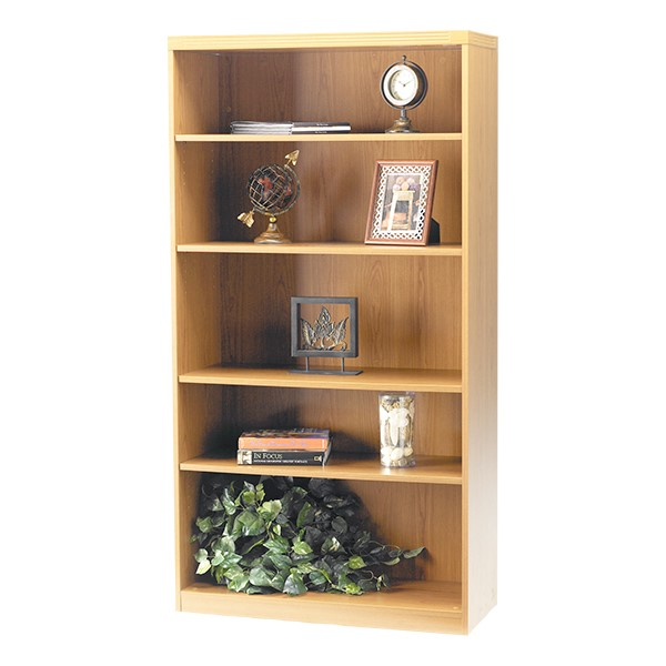 Aberdeen Series Bookcase - Five Shelves - Maple
