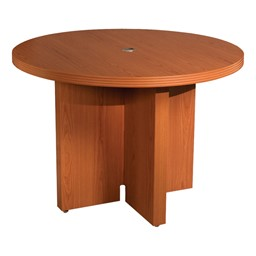Aberdeen Series Round Conference Table - Cherry