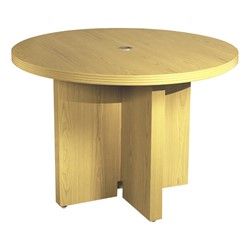 Aberdeen Series Round Conference Table - Maple