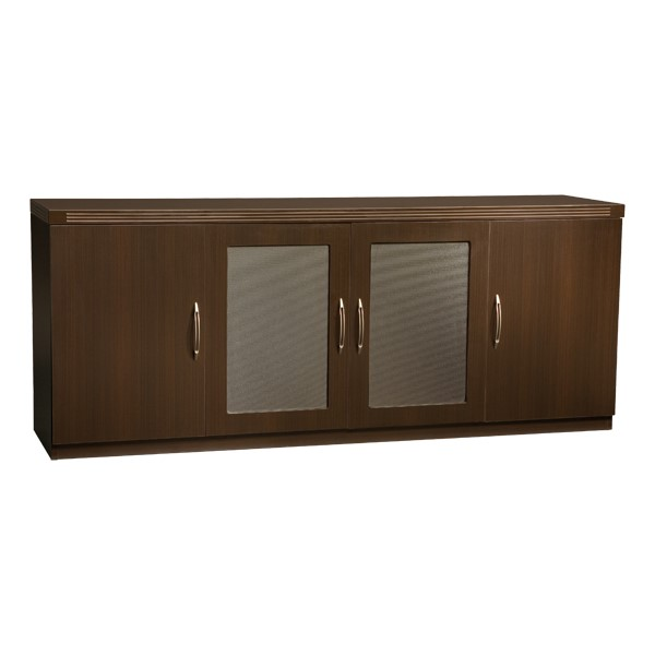 Aberdeen Series Low Wall Cabinet - Mocha
