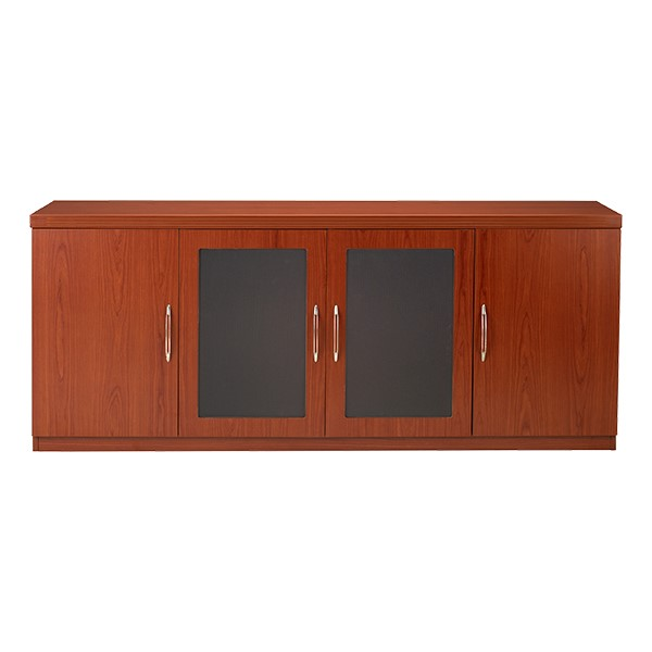 Aberdeen Series Low Wall Cabinet - Cherry