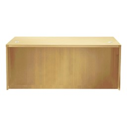 Aberdeen Series Straight Front Desk - Maple