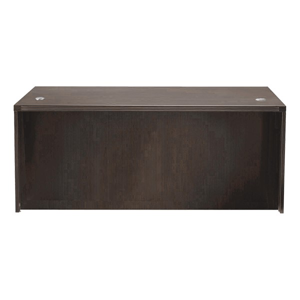 Aberdeen Series Straight Front Desk - Mocha