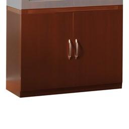 Aberdeen Series Storage Cabinet - Cherry