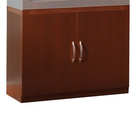 Aberdeen Series Storage Cabinet - Cherry
