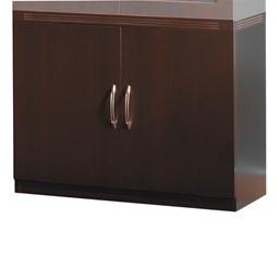 Aberdeen Series Storage Cabinet - Mocha